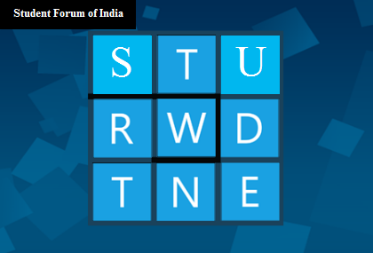 Stand Out on the Student Forum of India